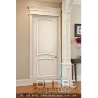 China Good Ventilated Prehung Modern Wood MDF Interior Doors Thickness 5mm 6mm 9mm wholesale