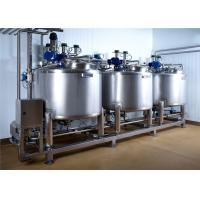 China Pasteurized Milk Processing Line , Cheese Production Line ISO Approved wholesale