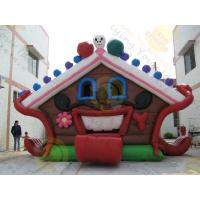 Buy cheap Huge Eye - Catching Advertising Inflatable Castle Bouncer For Childrens Party from wholesalers
