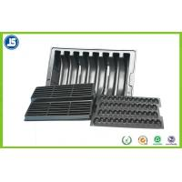 China Anti-static PS Black 0.5 mm ESD Compartment Tray Used In Electronics OEM wholesale