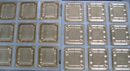 Quality Easy Assembly Pulp Moulding Dies Thermoforming Mold With CNC Tool Processing for sale