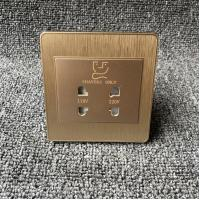 China Dual Interface Conversion Razor Electric Shaver Socket For Hotel 220 Volt on sale