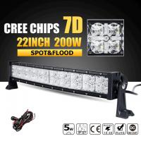 China Super Bright Row 3W Cree Off Road Led Light Bar 7D Reflector With Dayrunning Light IP68 Waterproof wholesale