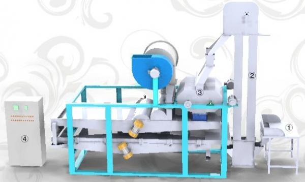 Quality Semente de abóbora que descasca a máquina TFHB150 for sale