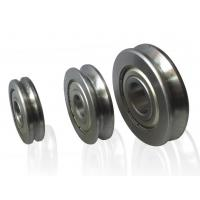 China Wire guide and straightening rollers/wire straightening bearings/grooved pulley wholesale