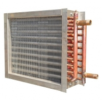 China 12.7mm Finned Tube Heat Exchanger Surface Sine Wave structure wholesale