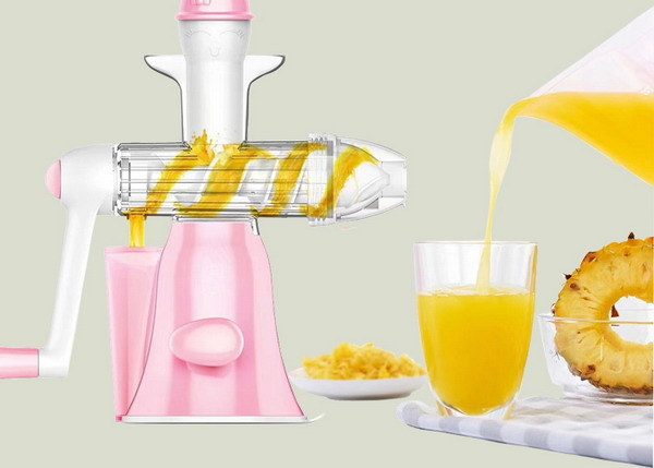 Quality Household Manual Juice Maker Washable Hand Operate No Noise Easy Installation for sale