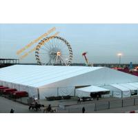 China White Construction Tent Large Aluminum Structure Waterproof  Exhibition Event Marquees wholesale