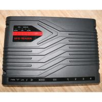 China 4 Ports Black Color Tablet Fixed Rfid Reader Super Long Detection Distance wholesale