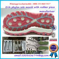 China Safety Performance Shoe Sole Mold Die Casting Single / Multi Cavity on sale
