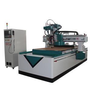 China Large Screen Display 4 Axis Wood Carving Machine , Smart Electric Wood Carving Machine wholesale