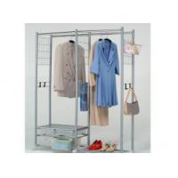 China Clothes Rack with 4 Storage Cabinets wholesale