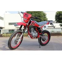 China CDI Lgnition Gas Powered Dirt Bikes 150cc Mini Type 150KG Loading Weight on sale