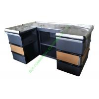 China Modern Supermarket Steel Cashier Table / Store Retail Counter Without Belt wholesale