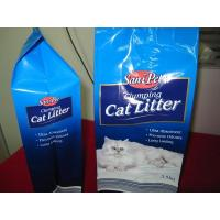 China Prevents Odours 3.5 Kg Volume Self Standing Cat Pet Food Bags Pouches wholesale