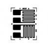 China BB Metal Half Bridge Foil Strain Gauge / Electronic Strain Gauge wholesale