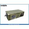 China DC 12V COFDM Transmitter H.264 Broadcast Wireless Audio Video Sender AES 265 bit Encryption wholesale