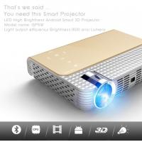 China simplebeamer GP5W,1280x800Pixels 3D pocket Projector with Android 4.44 OS,wifi Smart,DLP,Bluetooth wholesale
