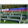 Buy cheap Indoor / Outdoor Soccer Field Equipment Grandstand Bleacher Seats Retractable from wholesalers