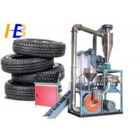 China Truck Tyre Rubber Recycling Machine  , 75kw Polymer Plastic Scrap Grinder on sale