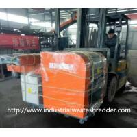 China Jumbo Bag Scrap Plastic Film Shredder Double Shaft For Soft Type Materials wholesale