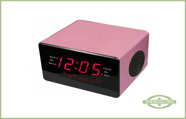 ihome dual alarm clock radio for apple ipod and iphone. Black Bedroom Furniture Sets. Home Design Ideas