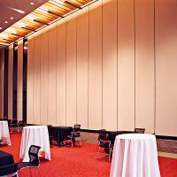 China Floor to Ceiling Hanging System Movable Folding Internal Sliding Doors on sale