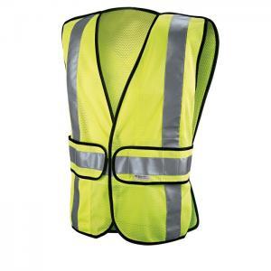 China Yellow Reflective Safety Vest , High Visibility Safety Vest Customized Size on sale