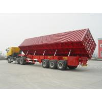 China ISO9001:2008 Cartification and semi-trailer used dump truck trailer sale wholesale