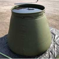 High-Frequency 5000L Tarpaulin Water Tank Army Green Military Water Storage