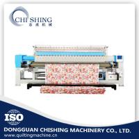 China Mattress Single Needle Quilting Machine , Industrial Embroidery Machines 3.2 Meters wholesale