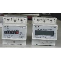 China Single Phase Din-Rail Electronic KWH Meter (DDS38) on sale