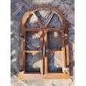China OEM Antique European Swing Open Cast Iron Windows H57.5xW38CM wholesale