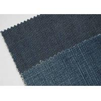China Tear - Resistant 9oz Denim Jeans Material For Shirt Soft Touch wholesale