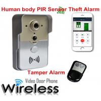 China Multi Apartments WiFi Video Doorbell Security System 720P Resolution , CE Certification wholesale