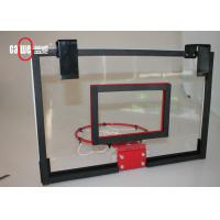 China Plastic Mini Basketball Hoop With A Pre Assembled Bracket Easily Mounted wholesale