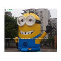 China Despicable Me Pop Minion Inflatable Bouncer Outdoor Bounce House With Digital Printing wholesale