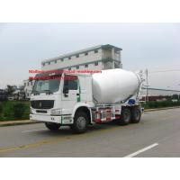 Buy cheap Sinotruk HOWO 6x4 10m3 Concrete Mixer Truck / Cement Truck LHD Or RHD from wholesalers