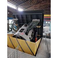 China Medium Frequency Hydraulic Steel shell furnace  KGPS-500KW/750kg wholesale