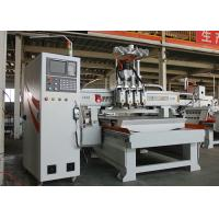 China Double Station 4 Spindles Woodworking CNC Router Machine High Rigidity wholesale