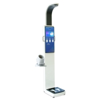 China 10.2 Inch Touch Screen Height weight scale with body fat analyzer blood pressure wholesale