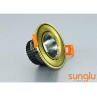 China Smart Home Dimmable LED Downlights , LED Recessed Downlights With Curved Face on sale