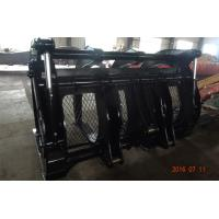 Quality 3m Wide Hyundai HL770 Loader Wood Grapple With 5 Cum Capacity for sale