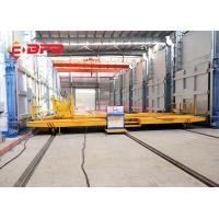 China Self - Propelled Annealing Furnace Rail Transfer Cart High Temperature Proof wholesale
