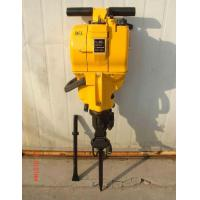 China portable gasoline engine rock drill with drill bits and drill rods wholesale
