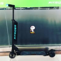China Foldable Fitrider Scooter Hot Selling E-Scooter Colorful Breathing Handle Light Aluminum alloy wholesale