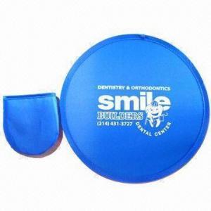 China Foldable Flying Disc, Made of Nylon wholesale