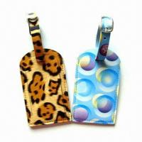 China Personal Decoration Luggage Tags with Nominal Quotation, Made of Plastic wholesale
