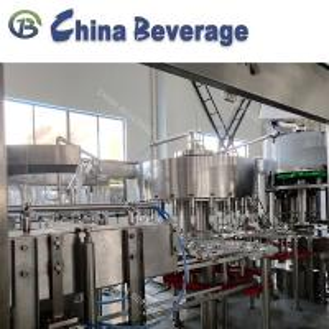 China Plastic Water Bottle Filling Machine , Water Bottle Packaging Machine 15000 BPH Rotary wholesale
