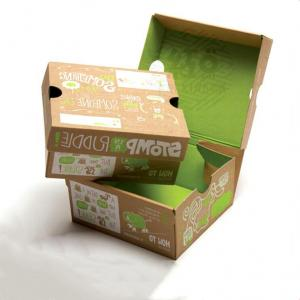 China Double Sided Printing Corrugated Paper Box For Clothing wholesale